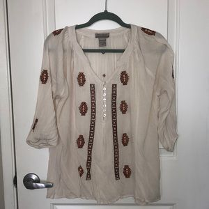 World Market tunic top